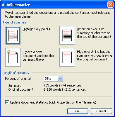Creating An Executive Summary Microsoft Word