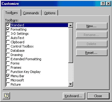 Right-clicking for Synonyms (Microsoft Word)