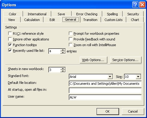 Changing the Default Font (Microsoft Excel)