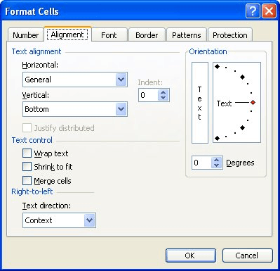 Filling a Cell (Microsoft Excel)