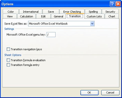 Working with Lotus 1-2-3 Spreadsheets (Microsoft Excel)