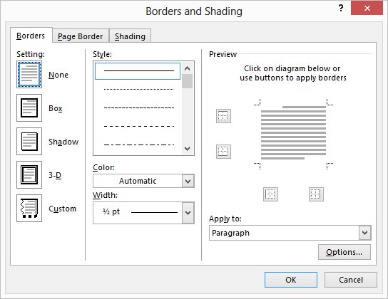 Adding Borders to Paragraphs (Microsoft Word) on voting in microsoft word tab, twitter home tab, microsoft word home toolbar, onenote home tab, mac home tab, microsoft office tab, microsoft word home bar, paint home tab, excel home tab, microsoft word home button, windows home tab, start microsoft tab, microsoft word tools tab, microsoft word design tab, microsoft word mailings tab, microsoft access 2010 home tab, microsoft word references tab,