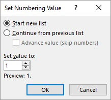 generate serial number in html table