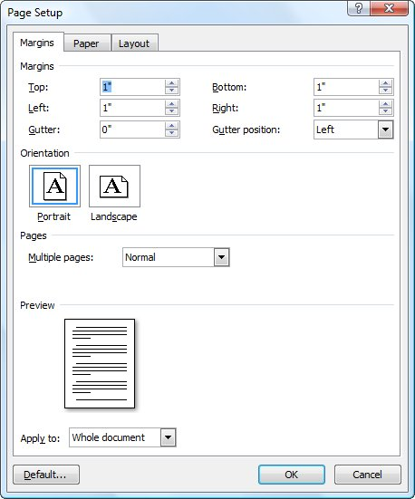 Creating a letterhead template microsoft word click the margins tool in the page setup group and then click custom margins word displays the margins tab of the page setup dialog box see figure 1 spiritdancerdesigns Images