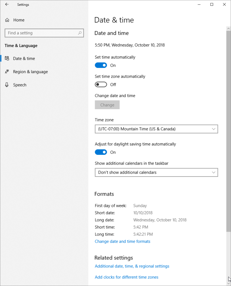 Deleting Additional Clocks (Tips Net)