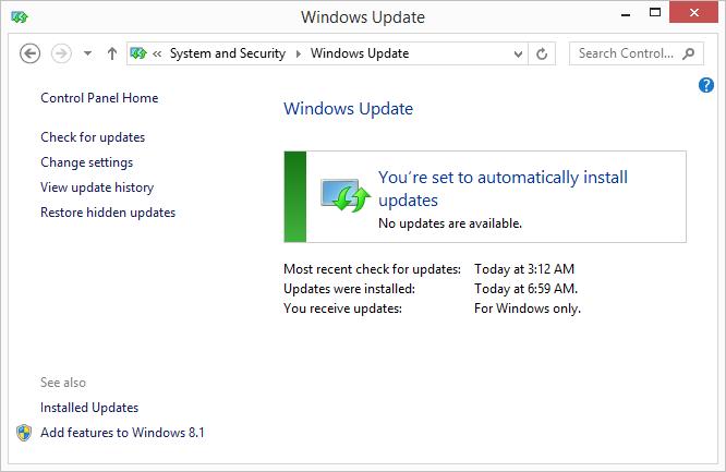 how to windows updates windows 7