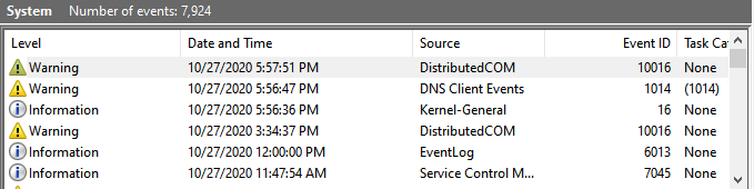 What is the Purpose of the System Event Log? (Tips Net)