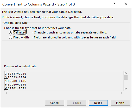 Converting Forced Text to Numbers (Microsoft Excel)