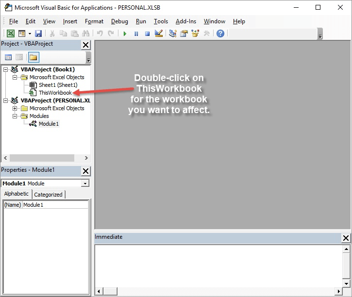 Automatically loading add ins microsoft excel double click on the thisworkbook object in the project explorer excel opens a code window for this workbook see figure 1 ibookread ePUb
