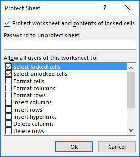 Adding Comments to Protected Worksheets (Microsoft Excel)