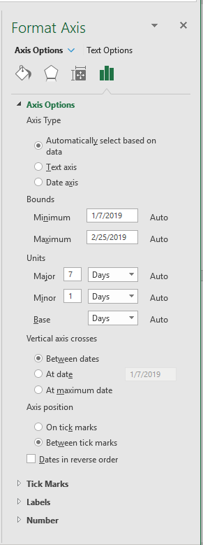 removing weekends from excel dates