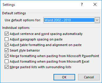 Pasting Excel Data within Word's Page Margins (Microsoft Excel)
