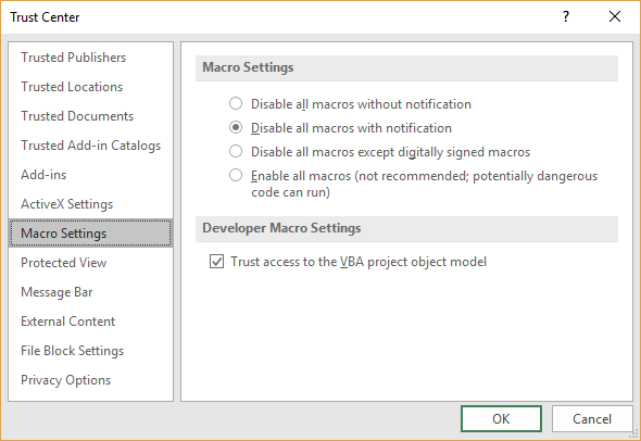 Enabling editing erases worksheet microsoft excel opening the workbook start excel and display the developer tab of the ribbon near the left side of the ribbon click the macro security tool ibookread Read Online