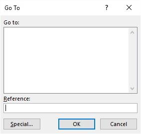 Locking All Non-Empty Cells (Microsoft Excel)