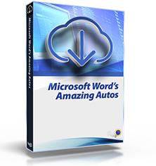 Microsoft Word's Amazing Autos