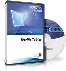 Word 2016 Terrific Tables (Table of Contents)