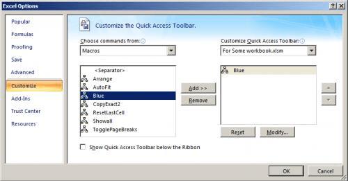 Transferring Ribbon Customizations (Microsoft Excel)