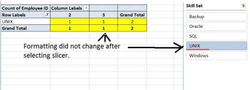 Maintaining Formatting when Refreshing PivotTables