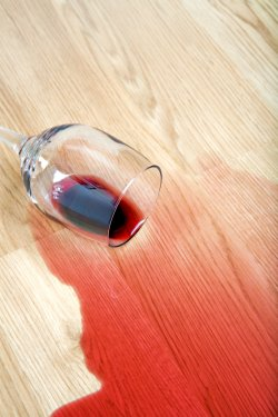 Dealing with wine stains
