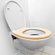 Toilets can get dirty fast!