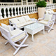 Patios and decks are inviting living areas